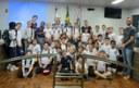 Alunos da Escola Criança Feliz visitam o Poder Legislativo