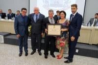 Empresário William da Silva recebe título de Cidadão Honorário do município