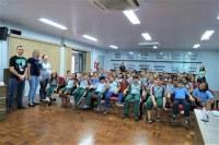 Estudantes da Escola Antônio Rockenbach conhecem a Câmara de Vereadores