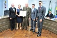 Professor Arno Gerke é o novo Cidadão Honorário de Marechal Rondon